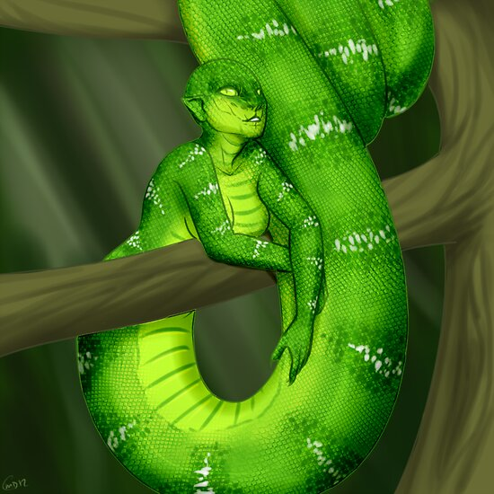 Monster Girls - Naga by RileyOMalley