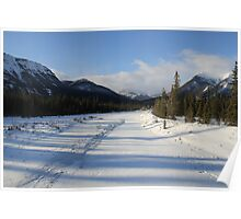 Snaring River , Jasper National Park  Poster