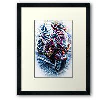 The Money Bike Framed Print