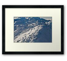 High in the Mountains Framed Print