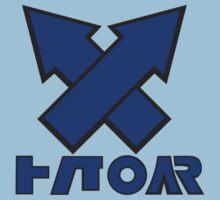 Splatoon - Turf War! Blue Kids Tee