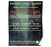 Canticles of Light (Dec. 2013) Poster