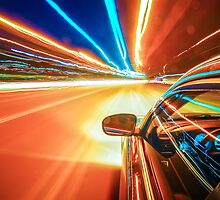 traveling at speed of light by Alexandr Grichenko