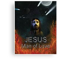 Jesus Man of Love Canvas Print