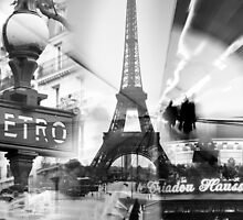 Paris Collage by Adrian Alford Photography