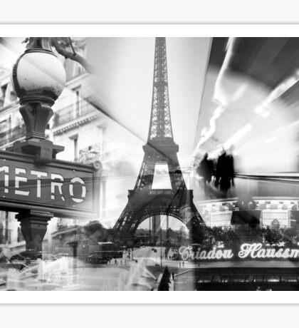 Paris Collage Sticker