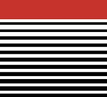 Delta Sigma Theta Striped Case by jlynnart