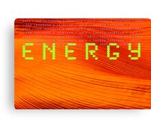 "Day 3 | 365 Day Creative Project  ""ENERGY"" Canvas Print"