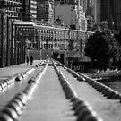 Sandridge Rail Bridge by Timo Balk