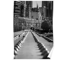 Sandridge Rail Bridge Poster