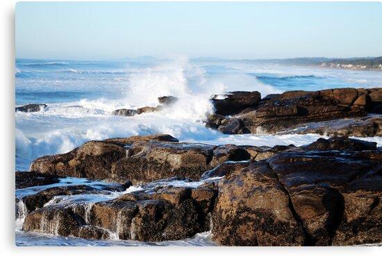 Crashing Waves by Annie Underwood