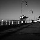 St Kilda Pier by Timo Balk