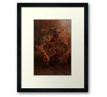 Undead Monstrosity Framed Print
