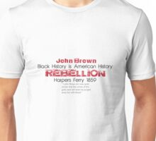 Black History Month: John Brown T-Shirt