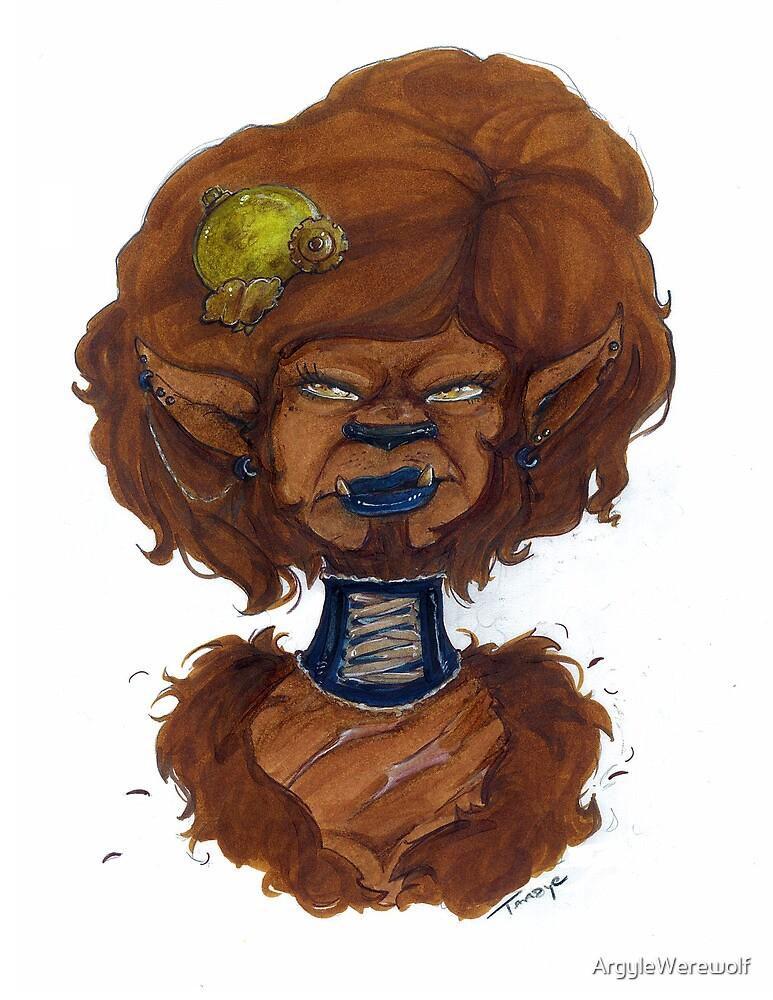 Werewolf Gal by ArgyleWerewolf