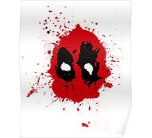 Deadpool - Splatter Poster