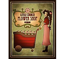 Midgar Flower Shop Photographic Print