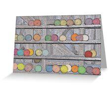 Balls of Yarn Greeting Card