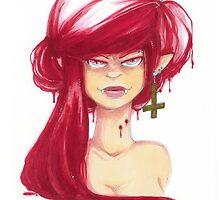 Vampire Gal by ArgyleWerewolf