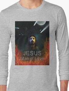 Jesus Man of Love Long Sleeve T-Shirt