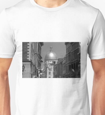 Montreal Dome of Marché Bonsecours Unisex T-Shirt