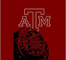 A&M AGGIES CASE by jlynnart