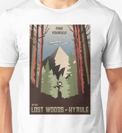 Find Yourself In the Lost Woods Unisex T-Shirt