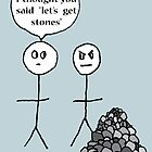 Lets get Stones by Nat Britten