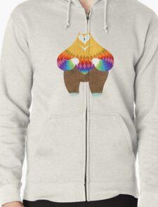 OwlBear Zipped Hoodie