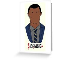 Clive iZombie Greeting Card