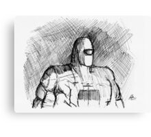 Warbot Sketch #012 Canvas Print