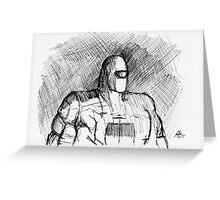 Warbot Sketch #012 Greeting Card