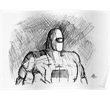 Warbot Sketch #012 Poster