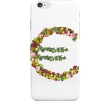 Euro Symbol  Part of a set of letters, Numbers and symbols iPhone Case/Skin