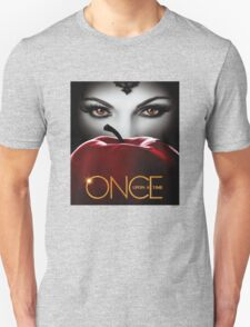 Once Upon a Time, Red Apple, OUAT, Regina, season 2, evil queen T-Shirt