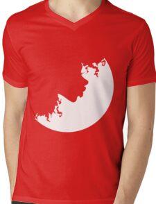 Curl Pattern Mens V-Neck T-Shirt