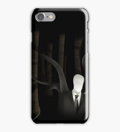 Slenderman in the Trees (alt) iPhone Case/Skin