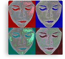 the mask Canvas Print