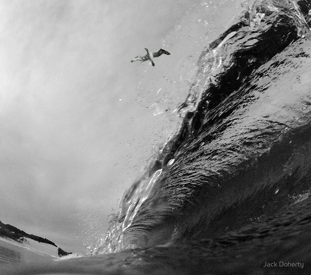 High Flying Barrel by Jack Doherty