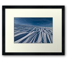 Winter Fellowship Framed Print