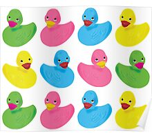 Ducky Colors Poster