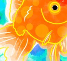 Watercolor Goldfish Sticker