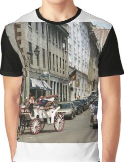 Old Montreal Traffic Jam Graphic T-Shirt