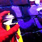 Spray Paint Hand - Graffiti - Street Art by NicNik Designs