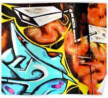 CCTV - Melbourne Graffiti - Street Art Poster
