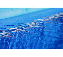 Come on in, the water's fine... Photographic Print
