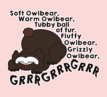 Soft Owlbear, Tubby Owlbear One Piece - Short Sleeve