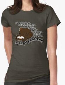 Soft Owlbear, Tubby Owlbear Womens Fitted T-Shirt