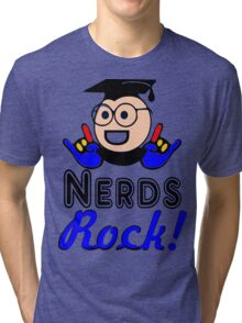 §♥Nerds Rock Must-Have Fun Clothing & Stickers♥§  Tri-blend T-Shirt