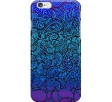 Purple Paisley iPhone Case/Skin